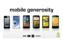 Mobile Generosity 4